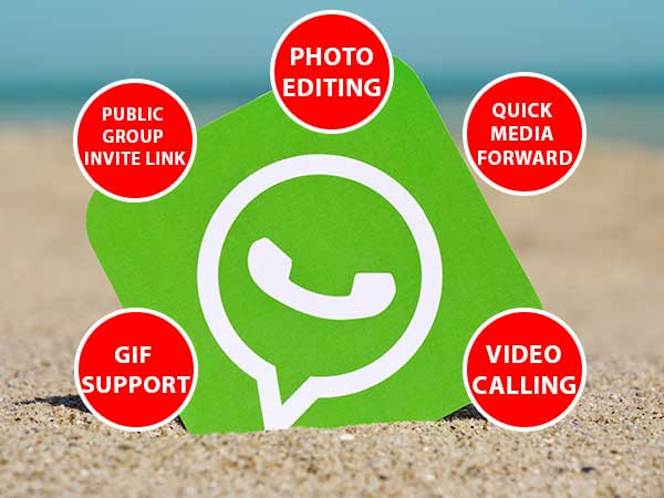 Video Calling, GIF Support, Photo Editing: What Else's New in WhatsApp