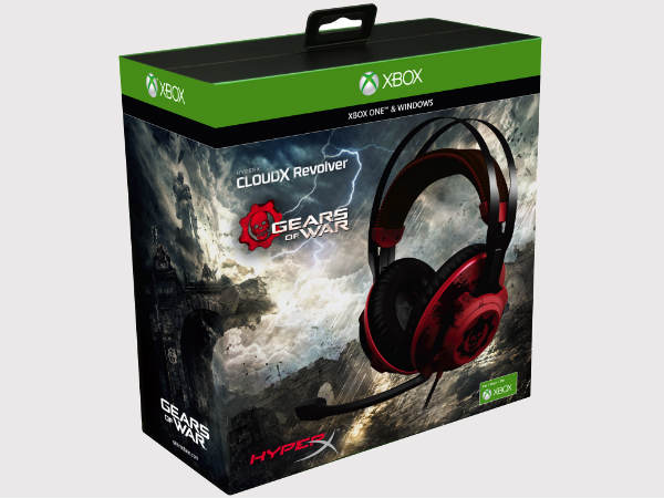HyperX Launched 'Gears of War' Gaming Headset at Rs. 11,999