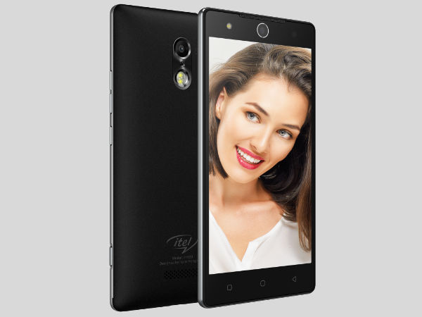 itel it1520 Flagship Smartphone with IRIS Scanner Launched