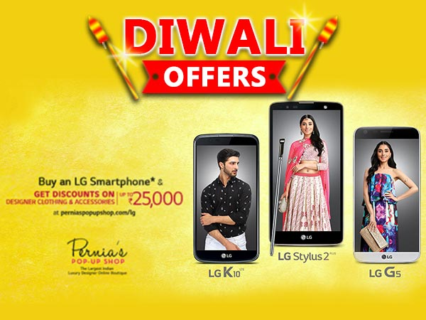 LG Diwali Offers: Buy Smartphones and Get Up To Rs. 25,000 off on Clothing, Accessories