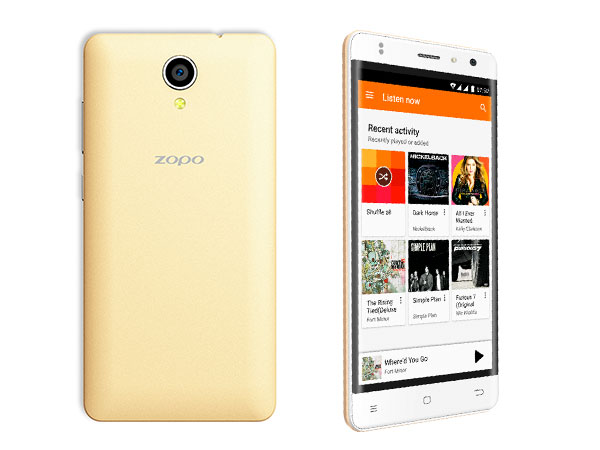 ZOPO Color C3 Smartphone Launched in India for Rs. 9,599