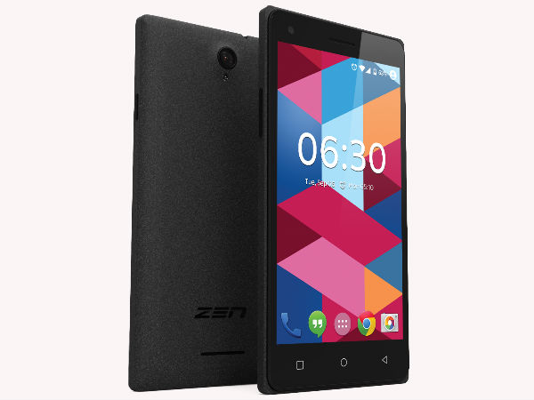 Zen Mobile Launches Zen Cinemax 2 Plus at Rs. 3,777