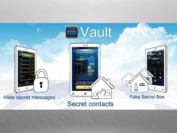 #1 Download the 'Vault-Hide SMS, Pics & Videos' App