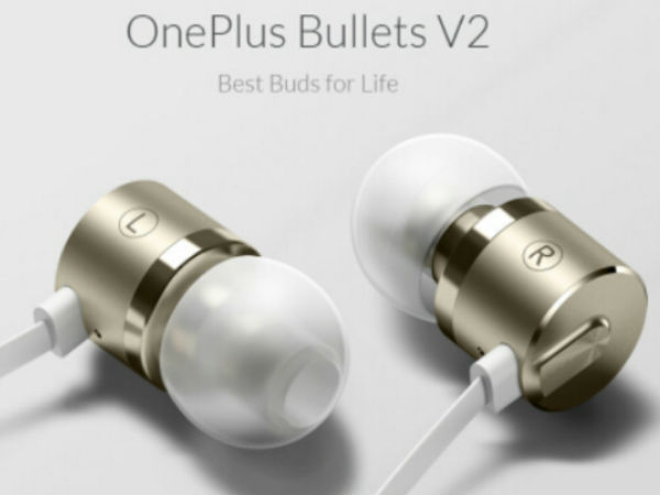 OnePlus Bullets V2 in-ear earphones