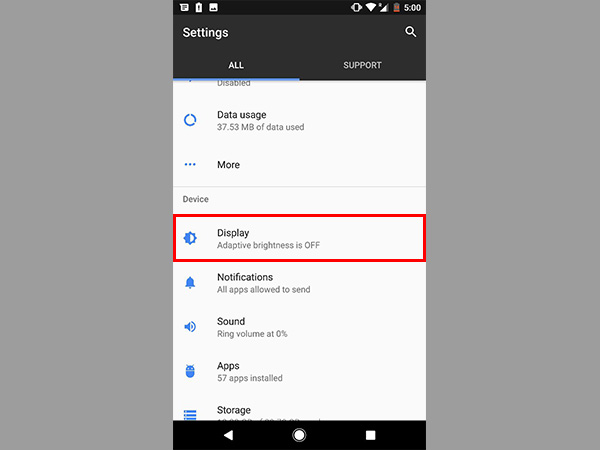 change App and Font size of Google Pixel and Pixel XL