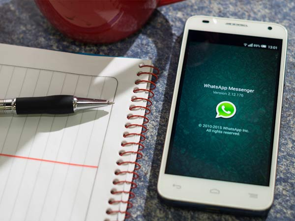 Step 1: Uninstall WhatsApp on your smartphone