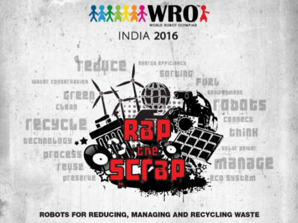 13th World Robot Olympiad in India for the first time