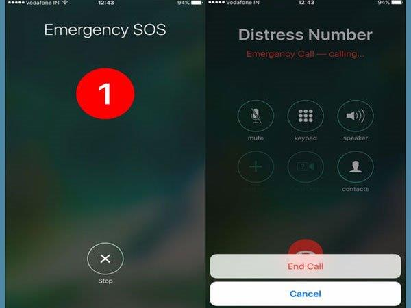 Default Emergency Number