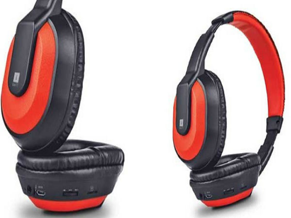 iBall MusiTap comes in Red and Black colors and is priced at Rs. 1,325.