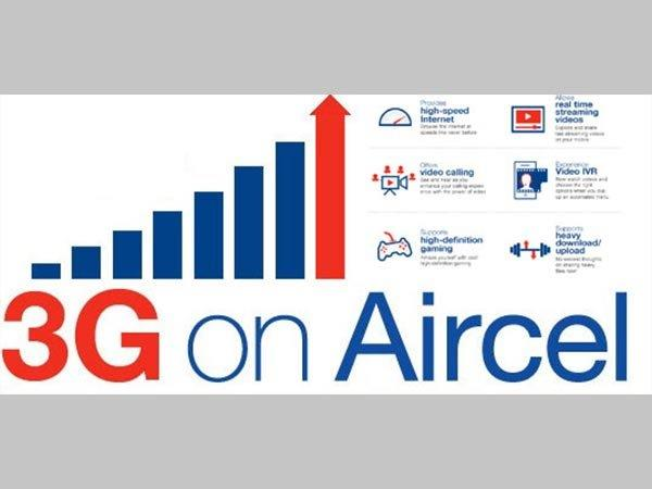 Aircel Launches 1 Day 3G Internet Pack for Just Rs. 3