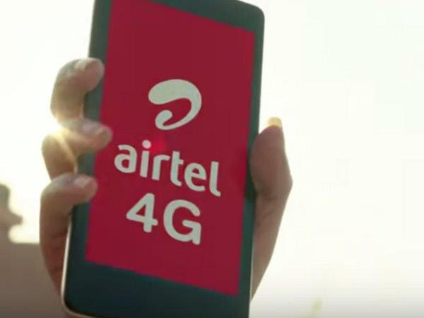 You Can Experience up to 135 Mbps Data Speed with Airtel's New 4G