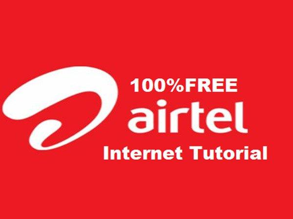 Try this Simple Trick to get Free Airtel Internet Data