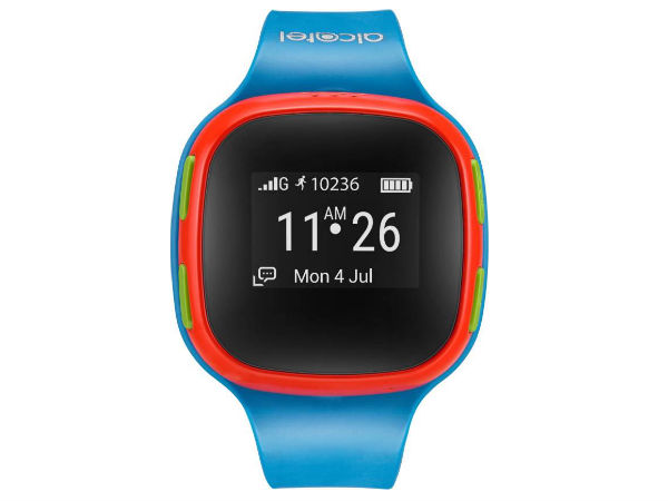 Alcatel MoveTime Smartwatch for Kids with Water Resistance Launched