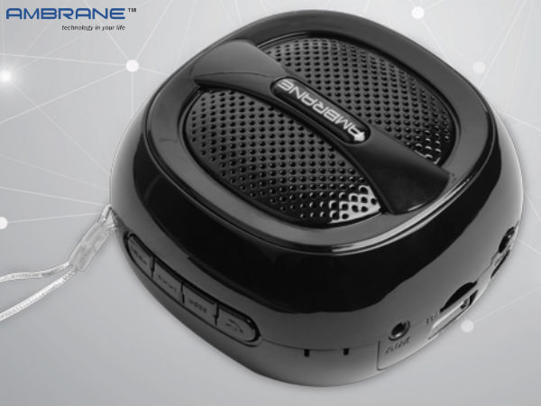 Ambrane BT-5000 Portable Bluetooth Speaker Launched at Rs. 1,499