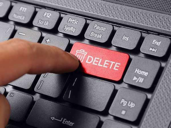 Follow this Simple Trick to Delete Yourself from the Internet