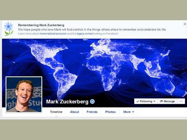 Millions Declared Dead on Facebook Including Founder Mark Zuckerberg