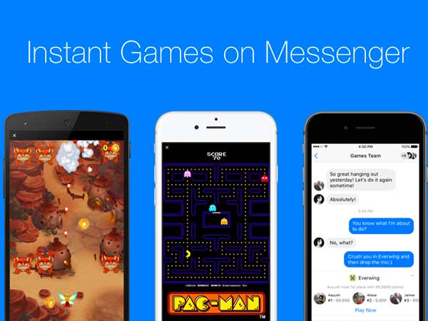 Facebook Messenger Gets Instant Gaming: 5 Interesting Games to Play