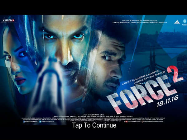 Official game of 'Force 2' launched