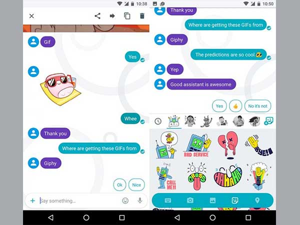 Google Allo's Latest Update Brings 'Smart Stickers' Feature