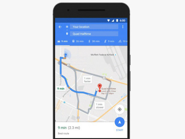 Here Are the Three New Features Added to Google Maps for Android