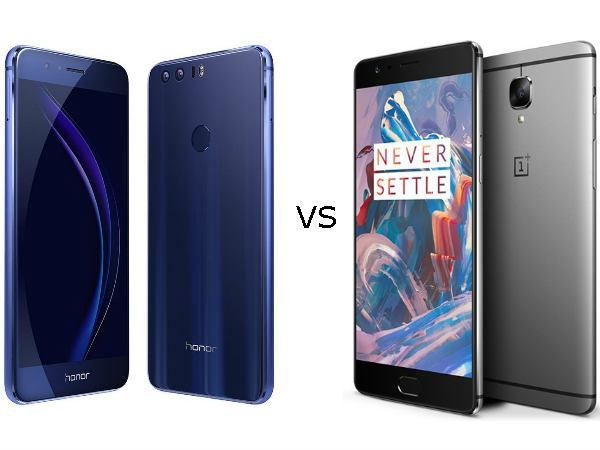 Honor 8 vs OnePlus 3: Clash of the Mid-Range Flagship Smrtphones