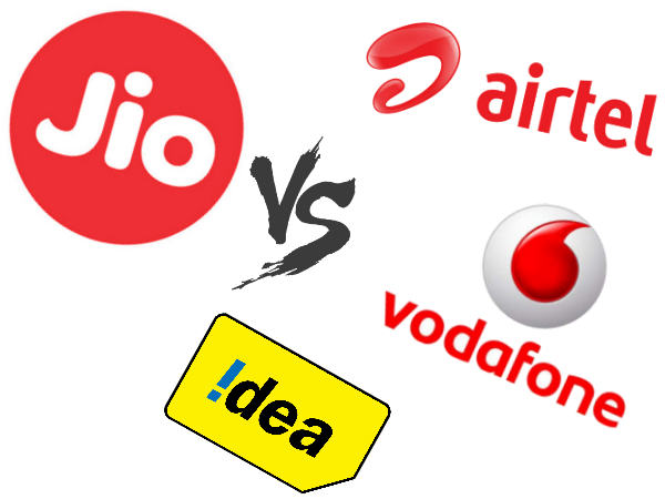 Here's How Airtel, Vodafone, Idea Are Planning to Take On Jio