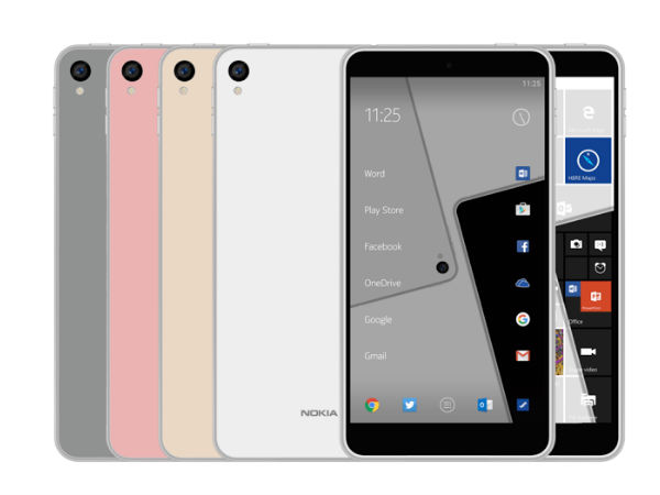 Nokia D1C Purported Images Leaked Online, Might be a 5-inch Smartphone