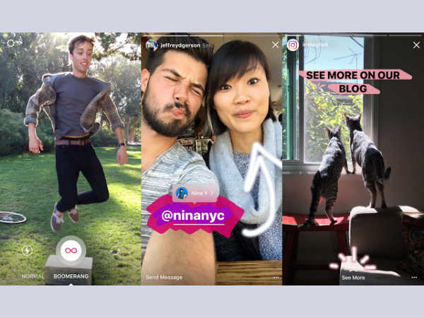 Latest Instagram Update Brings Support for Boomerang in Stories