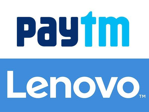 Lenovo and Paytm Join Hands to Enable Cashless Purchases