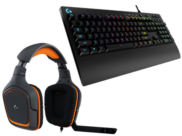 Logitech Prodigy Gaming Keyboard and Headset Launched
