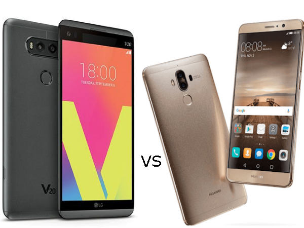 Huawei Mate 9 vs LG V20: The Flagship War Continues