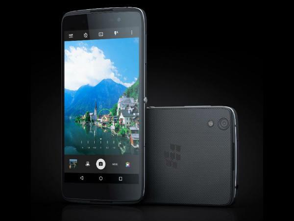 BlackBerry to Launch DTEK 50 and DTEK 60 on Nov 7