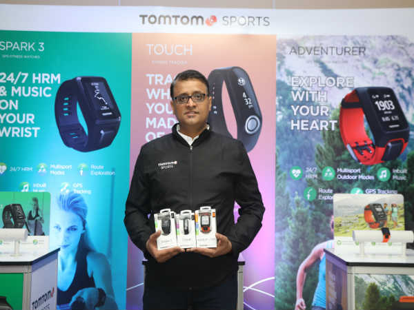 TomTom Touch, Adventurer and Spark 3 Fitness Trackers launched