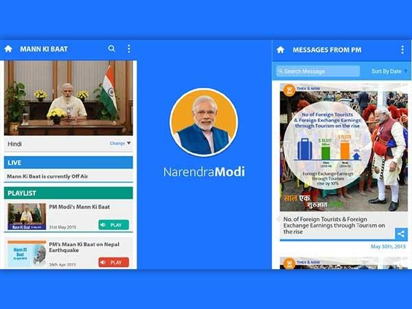 Narendra Modi Apps Get More Searches and Downloads on App Stores