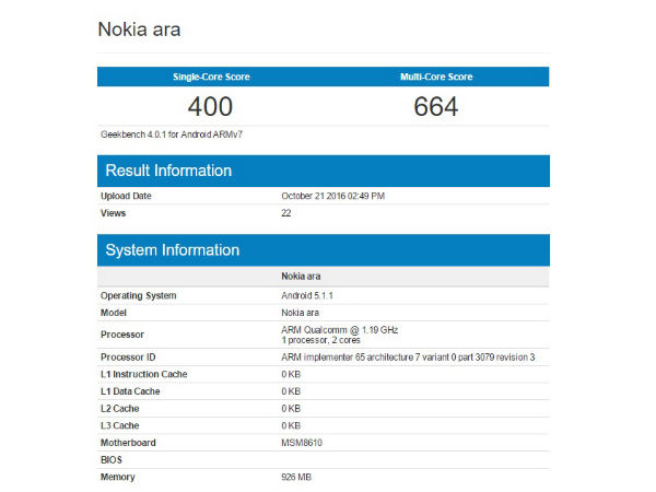 Nokia Pixel Is Just Nokia X2 Running Custom Android Nougat ROM
