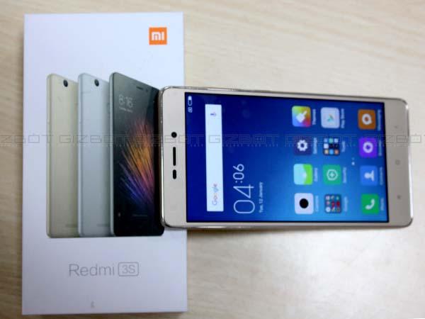 1 million Redmi 3S, Redmi 3S Prime smartphones sold on Flipkart