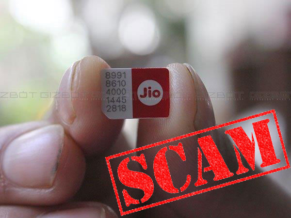 Reliance Jio Bill, Free Delivery of JioFi Device, and Other Scams