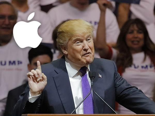 Trump Urges Apple to Manufacture iPhones, iPads, Macs in the US