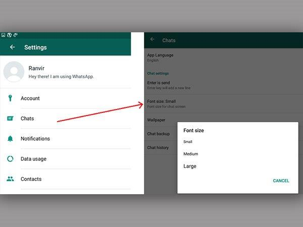 WhatsApp Guide: How to Change Font Size on Android and iOS