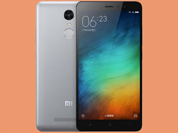 Xiaomi Redmi Note 3 (Best Price: Rs. 9,499)