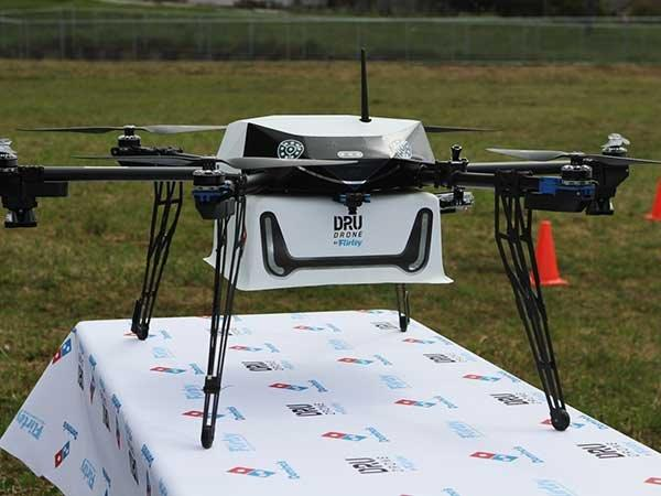 Now Drones Can Deliver Domino's Pizza at Your Doorsteps