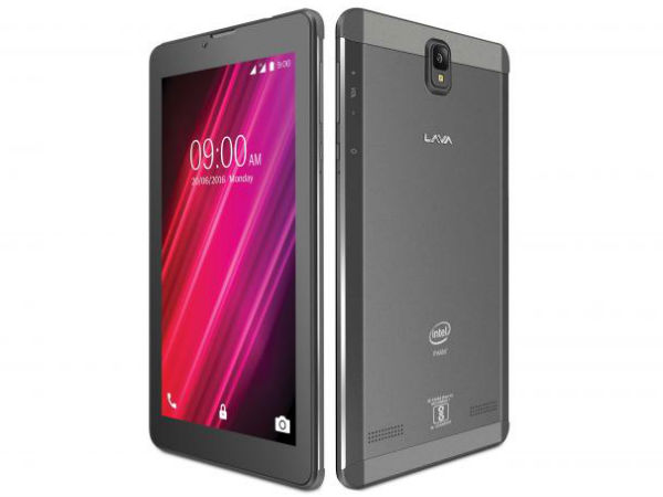 Lava launches new tablet at Rs 6,299