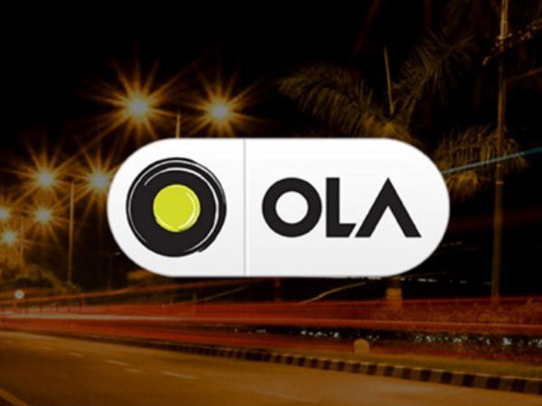 Now withdraw cash at Ola cabs in your city
