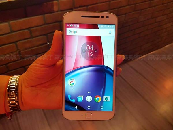 Moto G4 32GB variant at Rs. 11,999