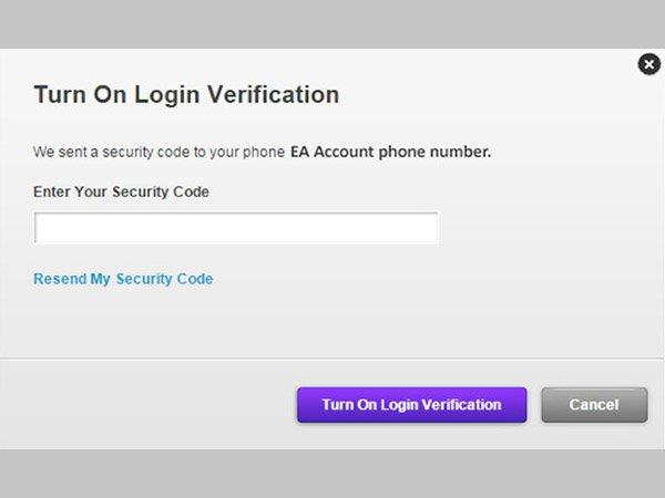 Use Login Verification