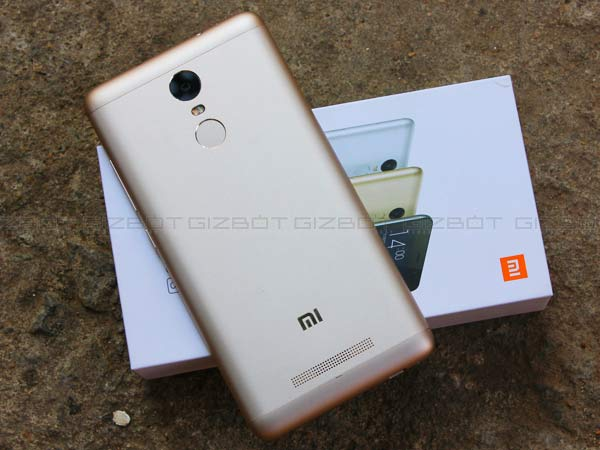 Xiaomi's Redmi Note 3