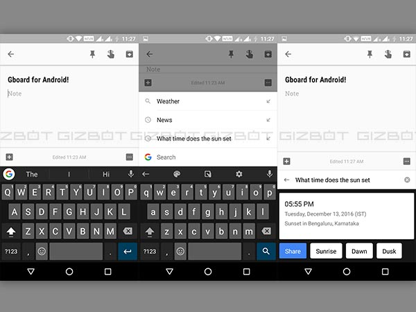 Google Gboard Finally Makes its Way to Android