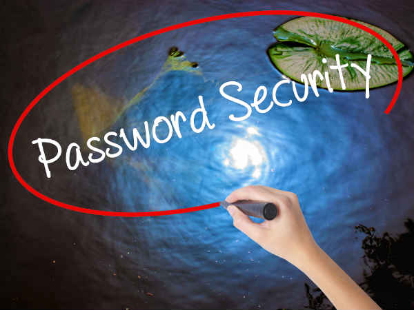 Create Strong Passwords and Use Special Characters