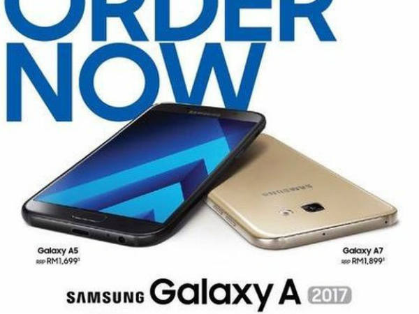 Samsung Galaxy A Series (2017) Might Cost You This Much