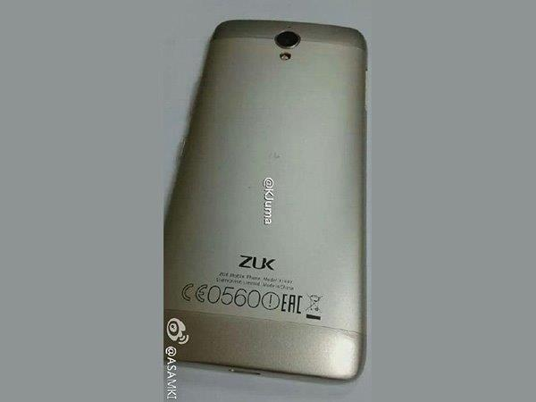 Images of Lenovo ZUK R1 with Helio P10 SoC and 2GB Leaked Online